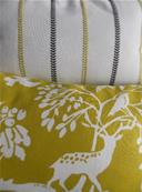 Tissu Enya Chartreuse anthracite