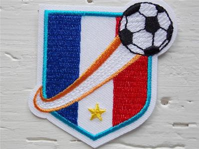 Motif thermocollant coupe du monde
