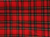Clan fabric red