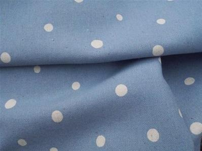 Dots linen & cotton fabric