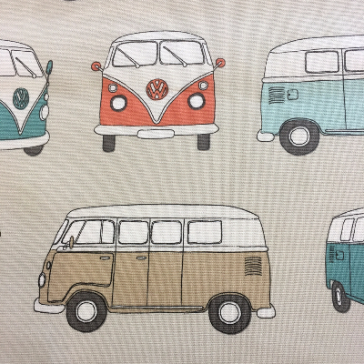 Vans fabric by Fryett's