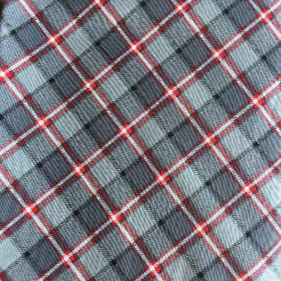 Tissu coll Londres - Plaid anthracite