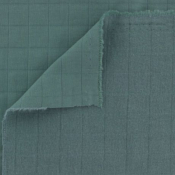Green tayio padded cotton fabric